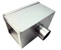 Reflektor korytkowy 370 x 160 mm, (wlot Ø92,5 mm) – 107.341