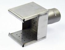 Reflektor sitkowy z bocznymi blendami, (wlot Ø37 mm) – 127.137