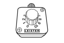 Zewnętrzny potencjometr analogowy, 10 kΩ, z 3 m przewodem sygnałowym – 148.812