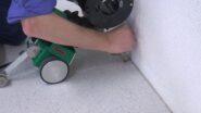 Leister Minifloor sprawnie wykładziny
