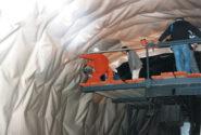Leister Twinny T zgrzewanie w tunelu
