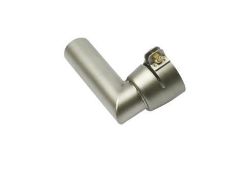 Dysza do rurowa Ø25 mm, 25x95 mm, wygięta 90° (Ø37 mm) 105.446