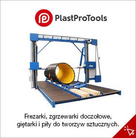 PlastProTools - piły, zgrzewarki, giętarki do płyt i rur z tworzyw sztucznych