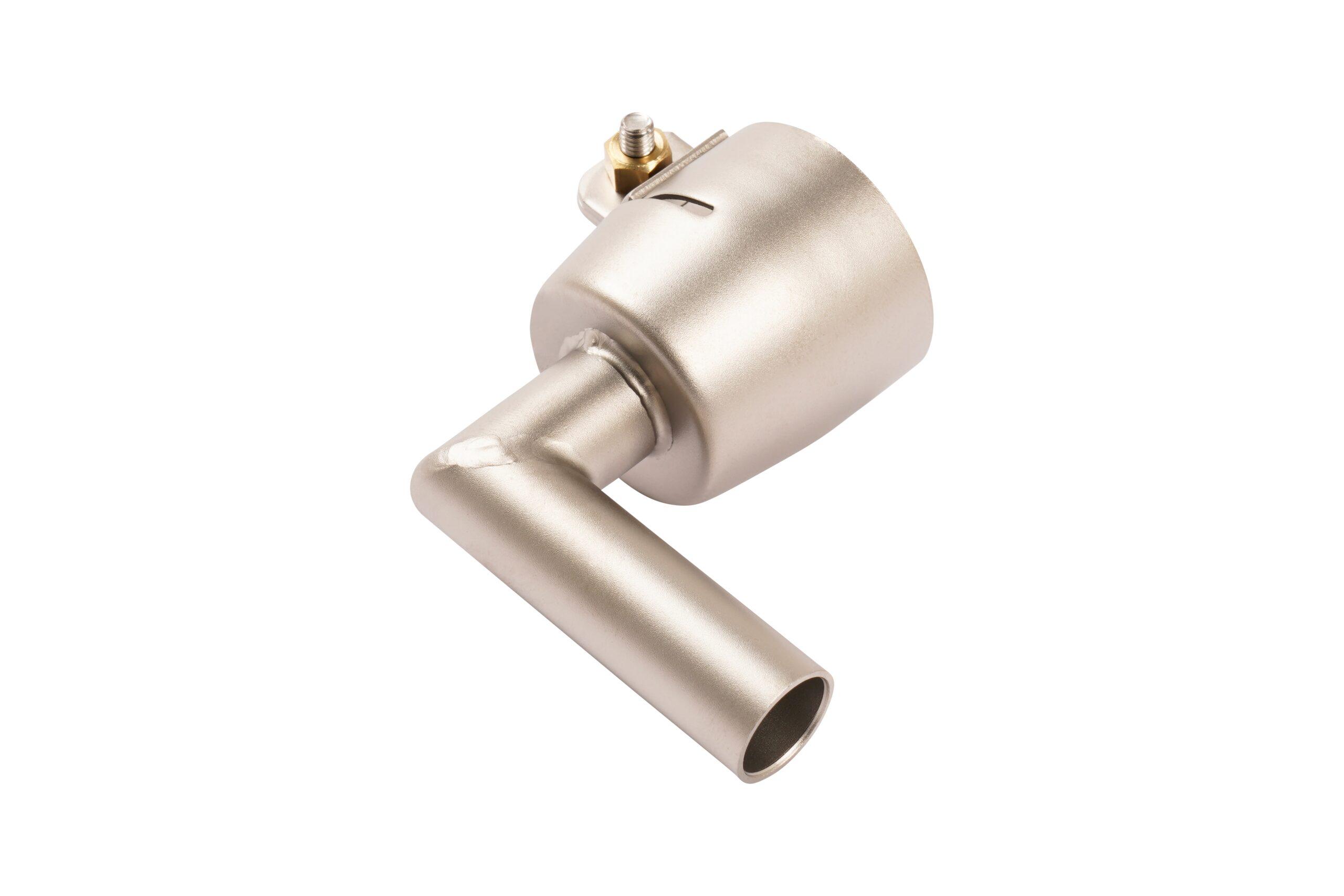 Dysza rurowa Ø14 mm, 25x50 mm, wygięta 90°, (wlot Ø32 mm) - 105.514
